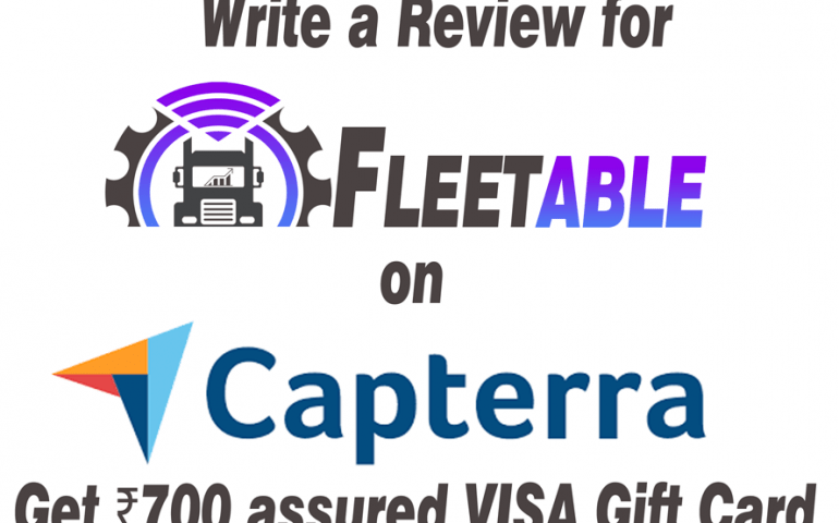 Write Review on Capterra get Visa Gift Card