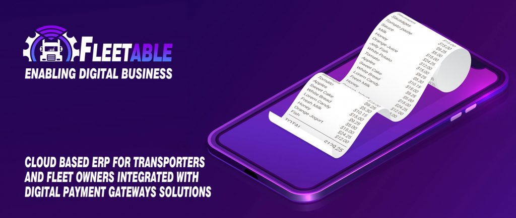 Fleetable Digital Payments Interface Integrated