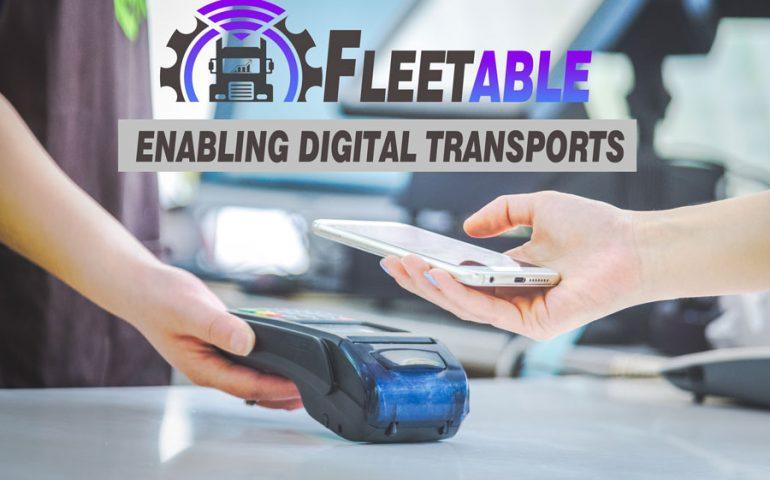 Fleetable accept digital payment