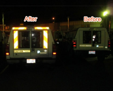 Reflective Tape Protect Vehicles